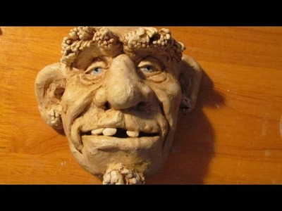 Sculpt a Face with Jonni's Home-Made Air Dry Clay