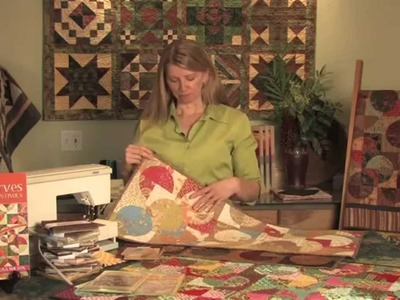 "Sewing With the 3.5"" Template from Elisa Wilson of Back Porch Designs"