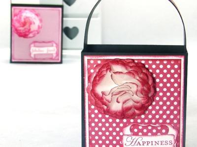 Stampin Up UK Handled Gift Bag Tutorial