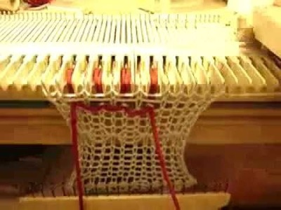 Tuck Stitch on Manual Knitting Machines