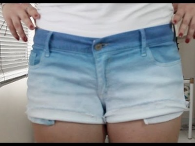 Tutorial De Como Teñir Shorts Degradados ft. Lupita Cruz