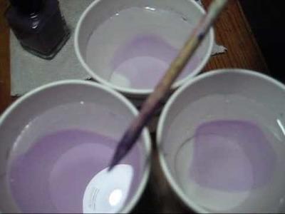 Water Marbling FAQ:  Filtered vs. Tap Water, Room Temp. vs. Cold