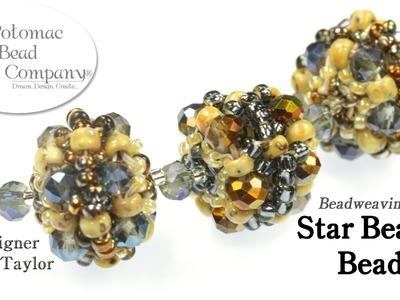 Beadweaving - Star Beaded Beads