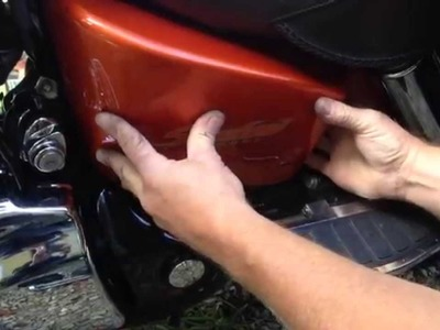 Changing the Battery in a 2002 Honda Shadow Sabre