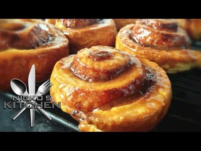 CINNAMON SCROLLS - VIDEO RECIPE