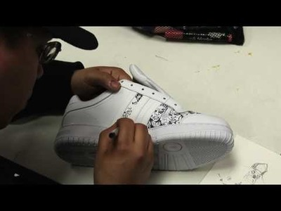 Concrete Immortalz Custom Adidas Time-lapse