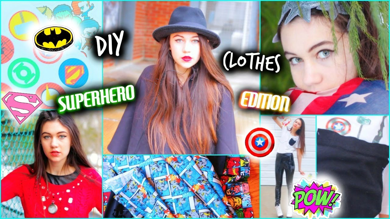 DIY Clothes - Superhero-Inspired Ideas
