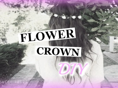 DIY. Flower Crown headband tutorial!