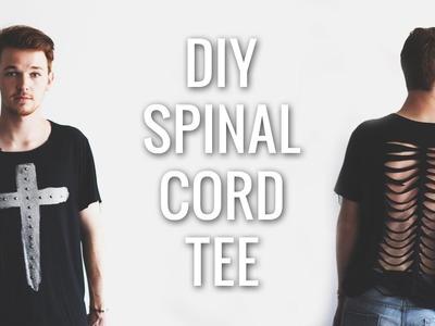 DIY Spinal Cord Tee Shirt | Imdrewscott