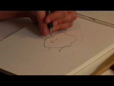 Drawing Anime & Cartoon Characters : How to Draw Disney Characters