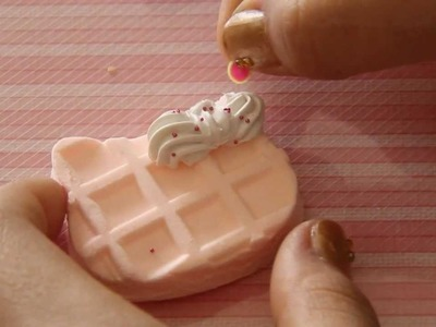 ᵔᴥᵔ Hello Kitty Waffle ♥ + Bow Whipple Design ♥