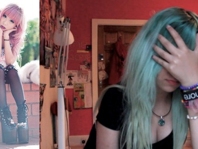 HOW TO BE PASTEL GOTH!??.Fringe FAAIL!