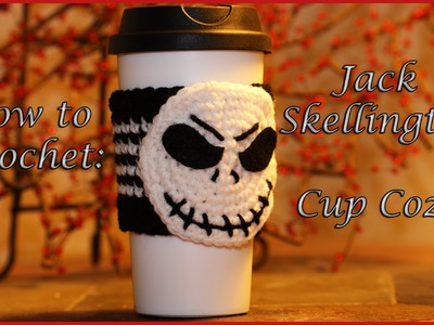 How to Crochet: Jack Skellington Cup Cozy