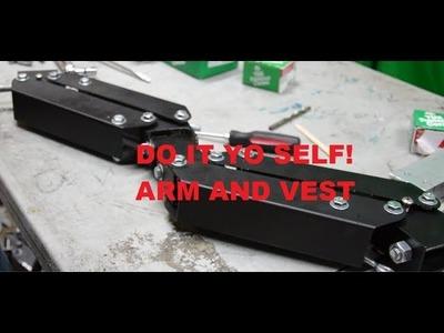 How to DIY Comfort arm and vest for Steadicam, Flycam or Merlin Part 2