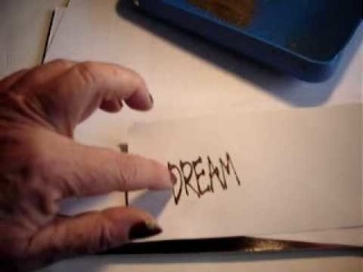 How to do Heat Embossing
