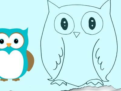 How to Draw an Owl by HooplaKidz Doodle | Drawing Tutorial
