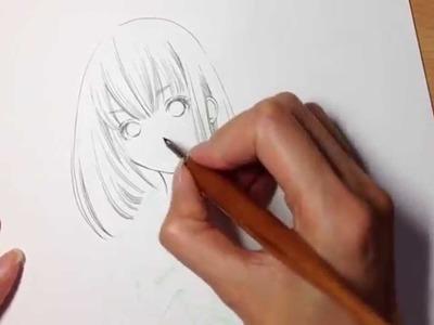 [How To Draw Channel] - How to draw manga (Kimono)✍(◔◡◔)