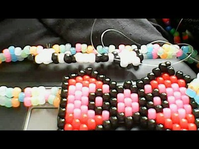 How to make a hello kitty bow part 1