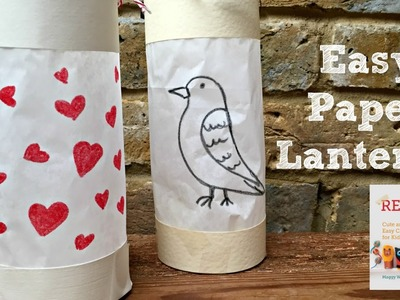 How to Make an Easy Paper Lantern