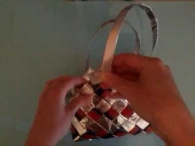 How To Make Handles for Candy Wrapper Bags