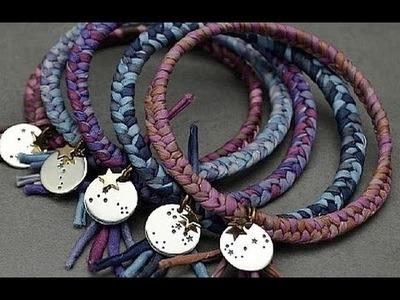 Jewelry How To - Make Constellation Cuff Bracelets