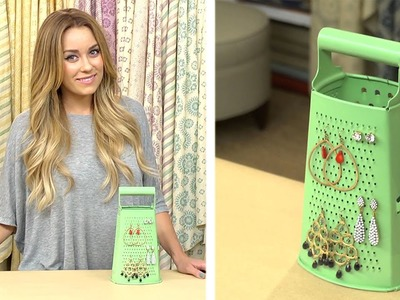 Lauren Conrad: Cheese Grater Earring Stand