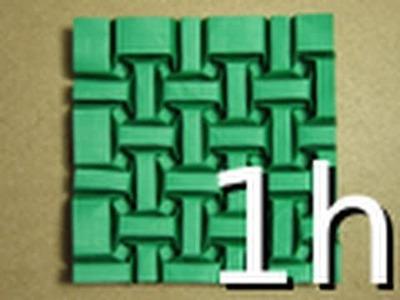 Long Version: Origami Tessellation Guide: Tessellesson on Bricks by Ilan Garibi