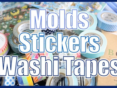 Molds, Stickers, and Washi Tapes