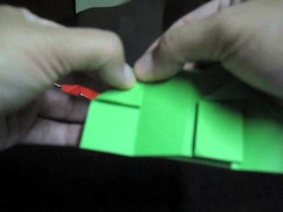 Origami Maniacs 2:  Making an Origami Poinsettia