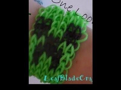 Rainbow Loom Creeper Friendship Bracelet