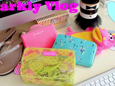 Sparkly Vlog - Hedgehog, Haul, Shopping & More