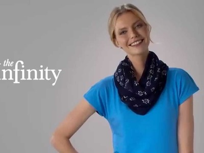 Talbots How To Tie A Scarf: The Infinity
