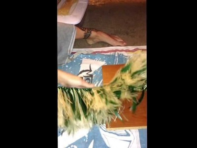 Tutorial: How to make a Hip Hei (Tahitian Dancing Hip Belt) Part 1