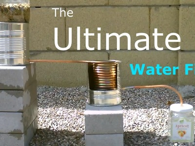 Ultimate DIY Water Filter! - 2 stage water purifier (purifies.heats&cooks!) - Simple DIY - Quickview