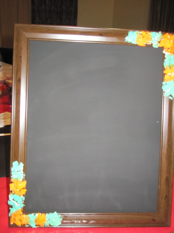 Chalkboad Picture Frame DIY