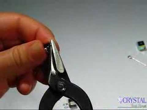 Concave Roundnose Plier Crystal Bead Shop