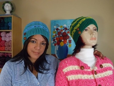 Crochet  Two Colors Hat