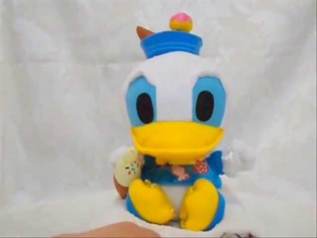 Disney Donald Duck Baby in Summer Ice-cream Costume