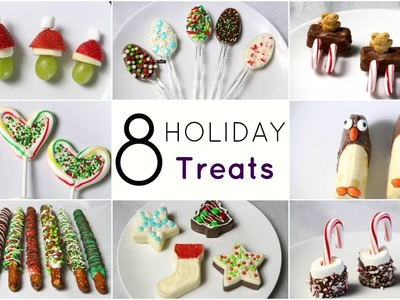 DIY- 8 EASY HOLIDAY TREAT IDEAS!