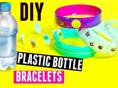 DIY Bracelets out of Plastic Bottles - Recycling Plastic Bottles Craft |Tumblr & Pinterest|