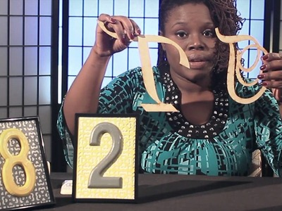 DIY Brides: Episode 7 - Table Numbers