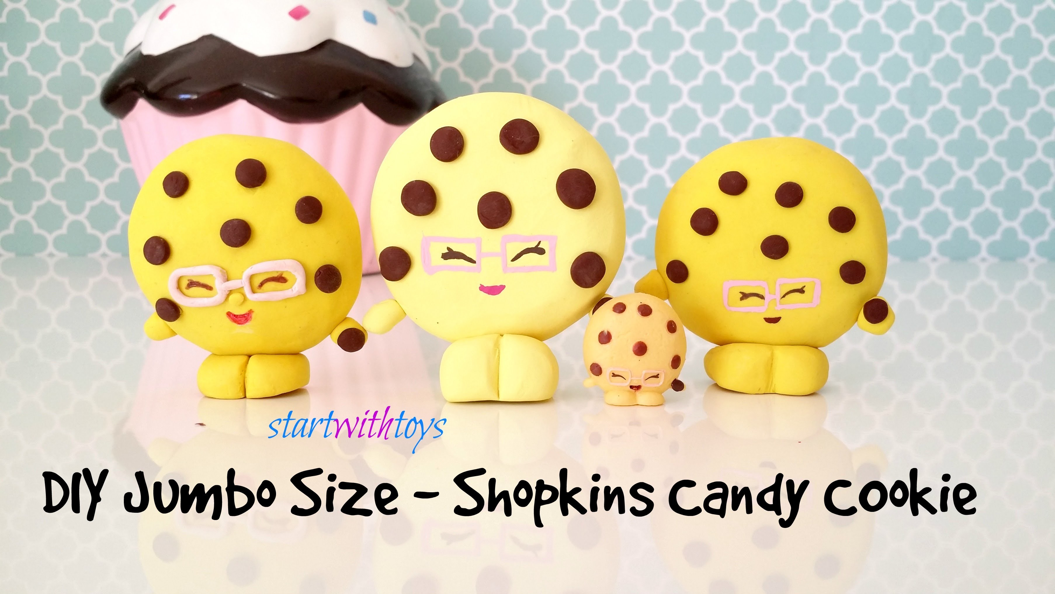 DIY Crafts Shopkins Candy Cookie - Season 3