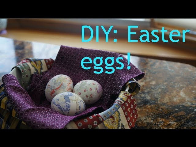 DIY: Easter eggs