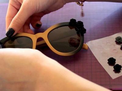 DIY Embellished Sunglasses!