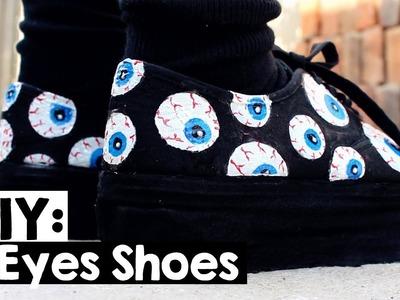 DIY: Eyes Shoes