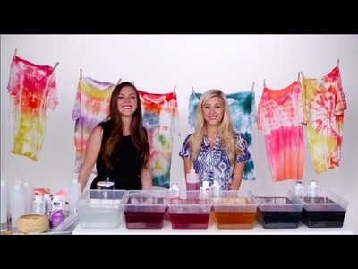 DIY Fashion | How to Tie Dye With Evelina Barry!