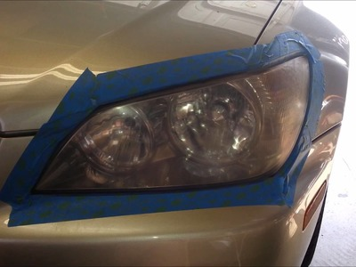 DIY How to Restore Headlights - NO TOOTHPASTE