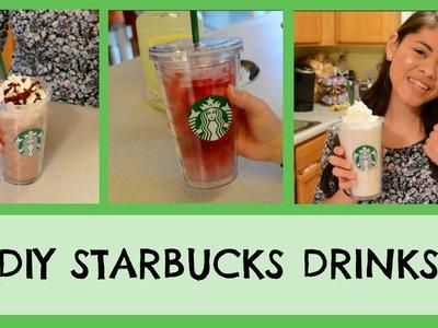 DIY Starbucks Drinks!