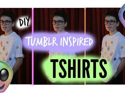 Diy Tumblr inspired T-shirts | life as Lonan