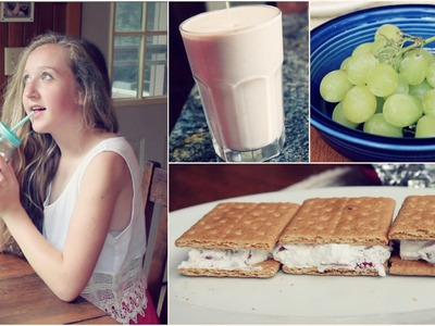 Frozen Summer Treats! + DIY Starbucks Passion Tea Lemonade! {Collab w. Beautybyalyssarenee}